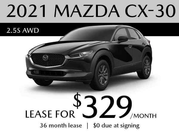 2020 MAZDA CX-30 Select AW
