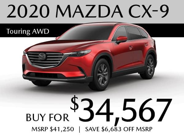 2020 MAZDA CX-9 Touring AWD