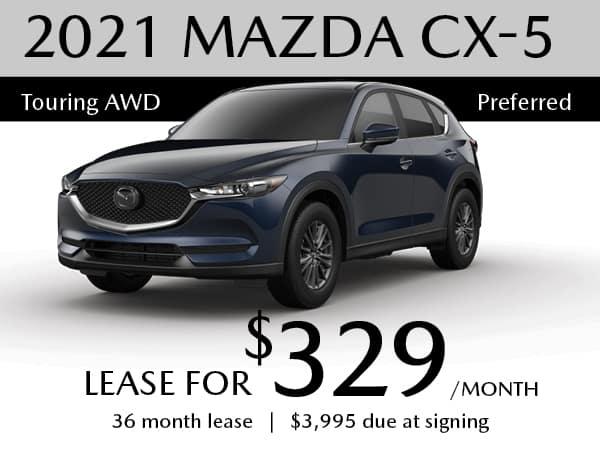 2021 MAZDA CX-5 Touring AWD Preferred