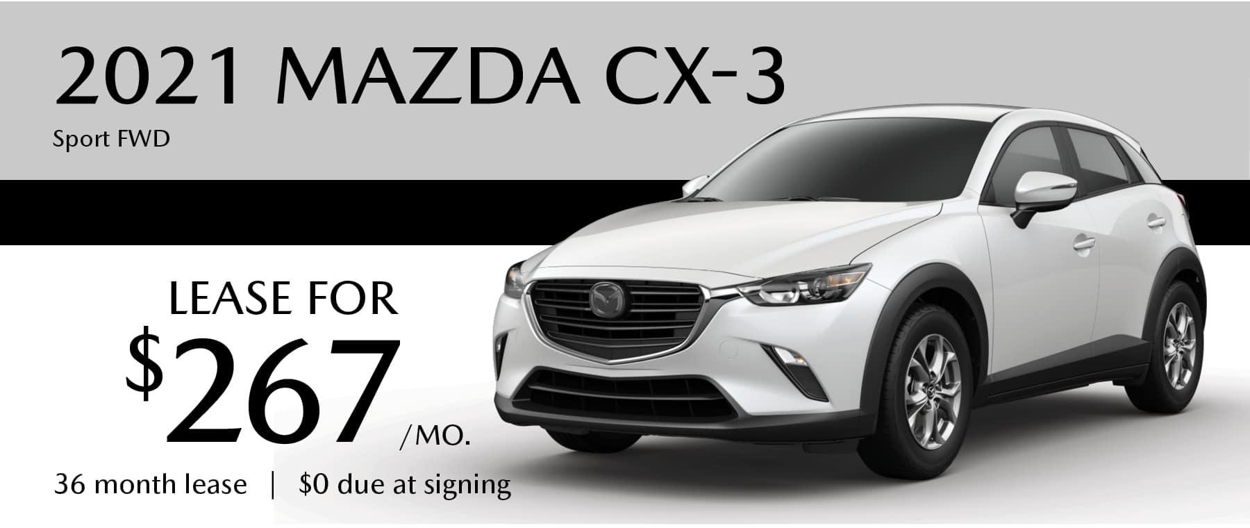 2021 MAZDA_CX3 Sport FWD