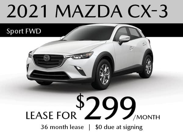 2021 MAZDA CX-3 Sport FWD