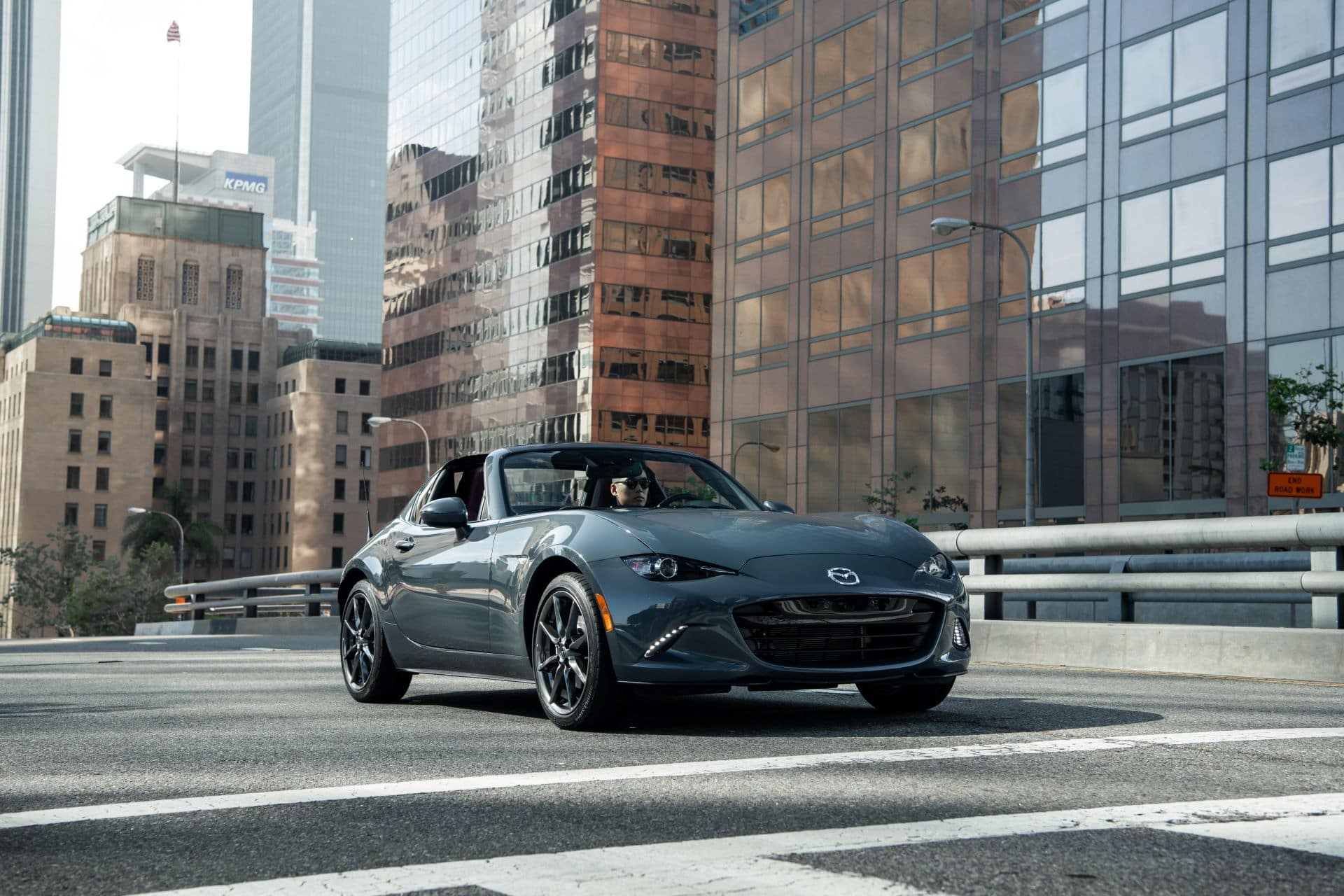 Mazda MX-5 Miata Polymetal Gray