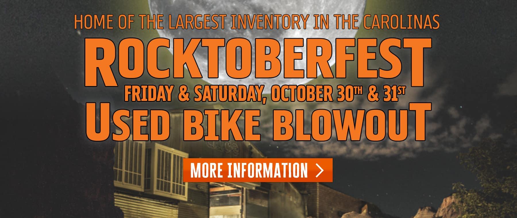 Rocktoberfest – Web Banner