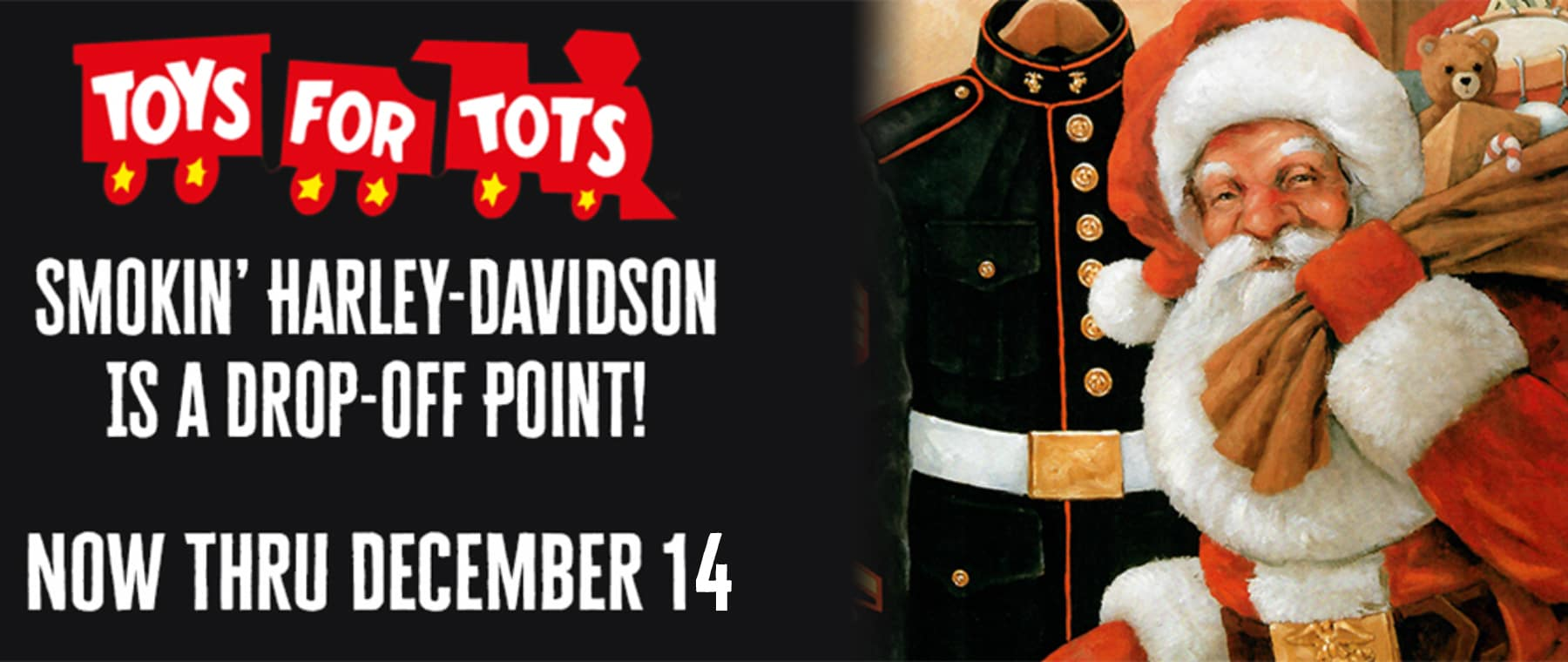 Toys for Tots – Web Banner