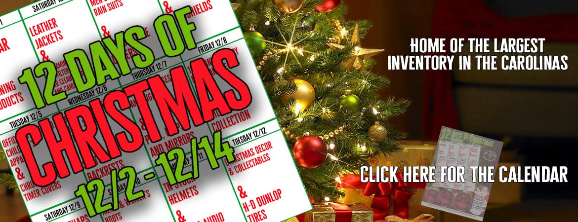 12 Days Of Xmas – Web Banner