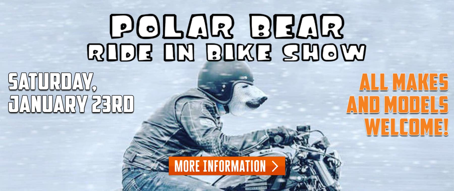 Polar Bear Ride In Bike Show – Web Banner