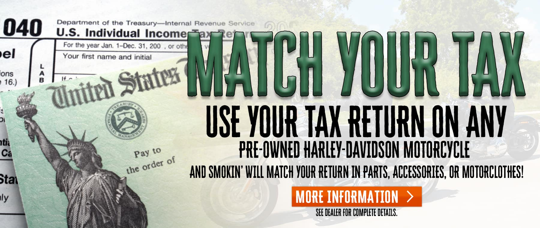 Match Your Tax – Web Banner
