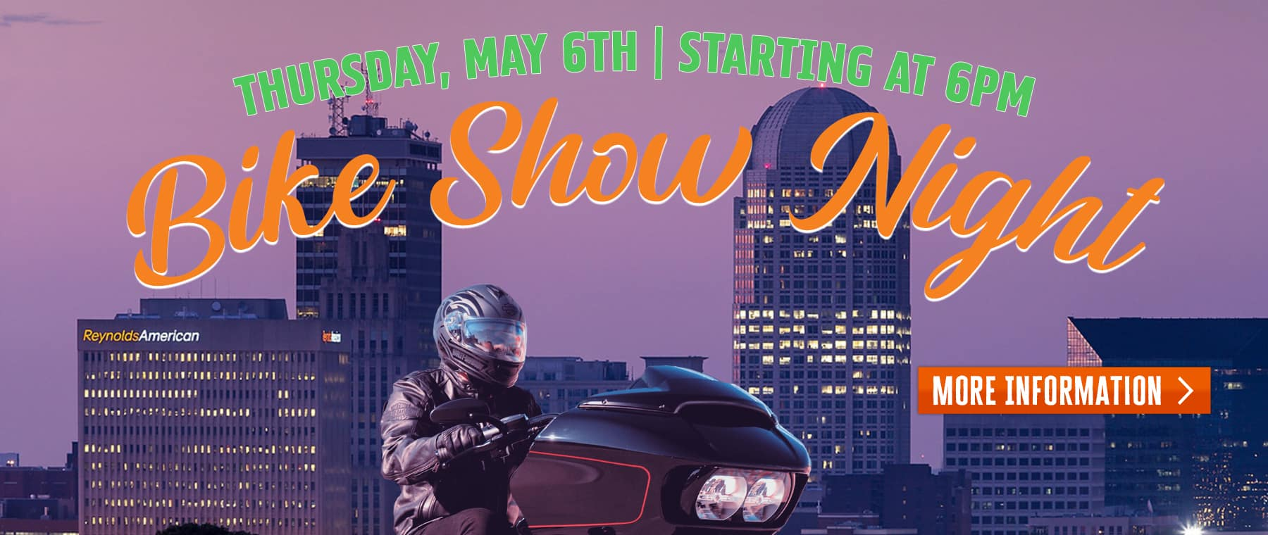 Bike Show Night – Web Banner 2