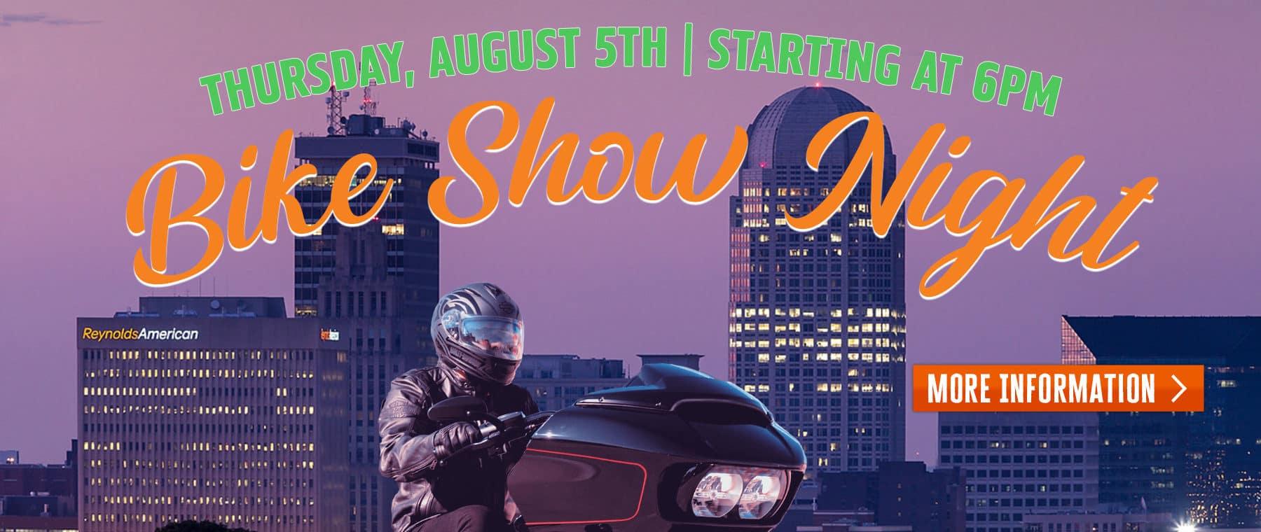 Bike Show Night – Web Banner 5