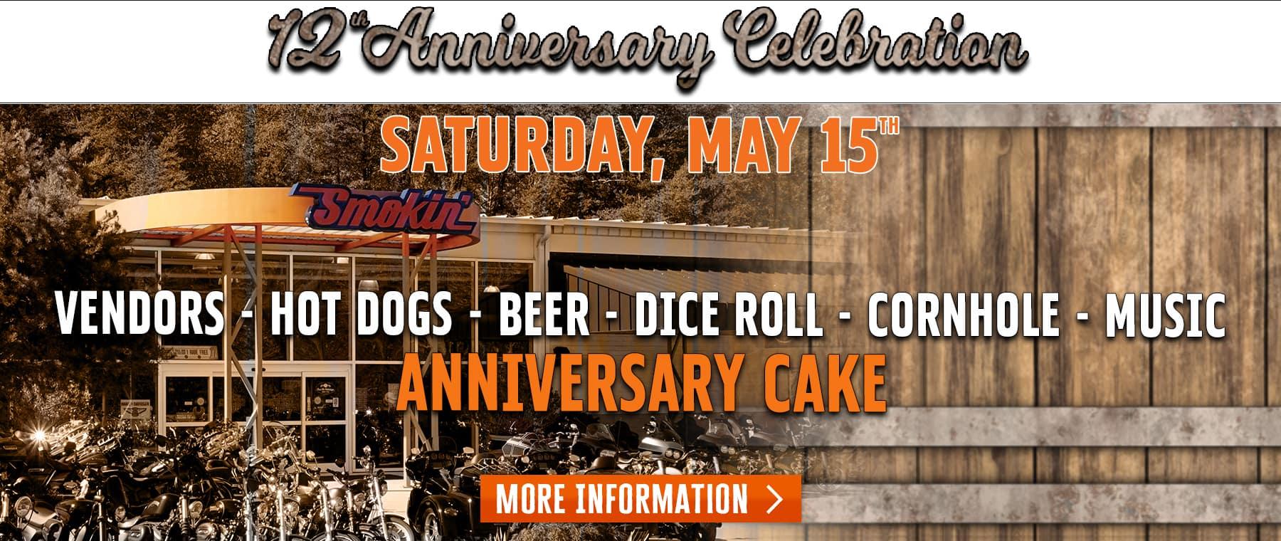 12th Anniversary Celebration – Web Banner