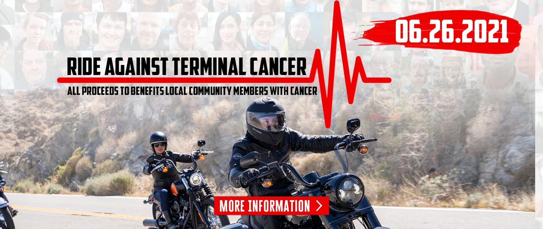 Ride Against Terminal Cancer – Web Banner