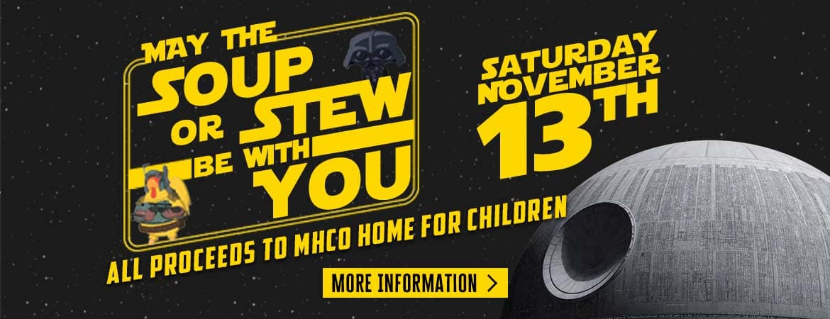 May The Stew Be With You – Web Banner
