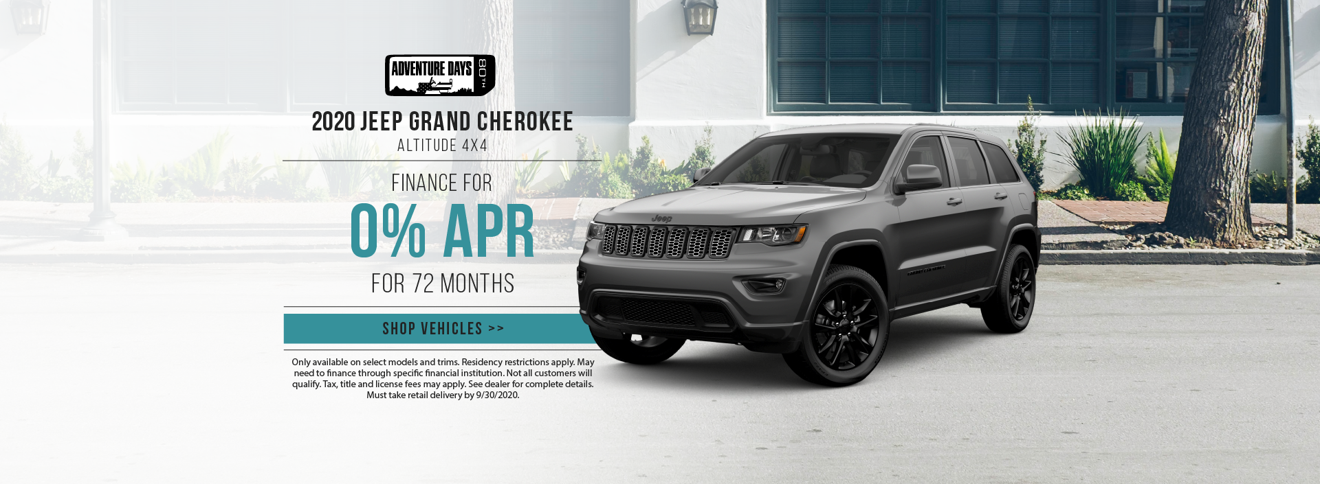 2020 Jeep Grand Cherokee Offer