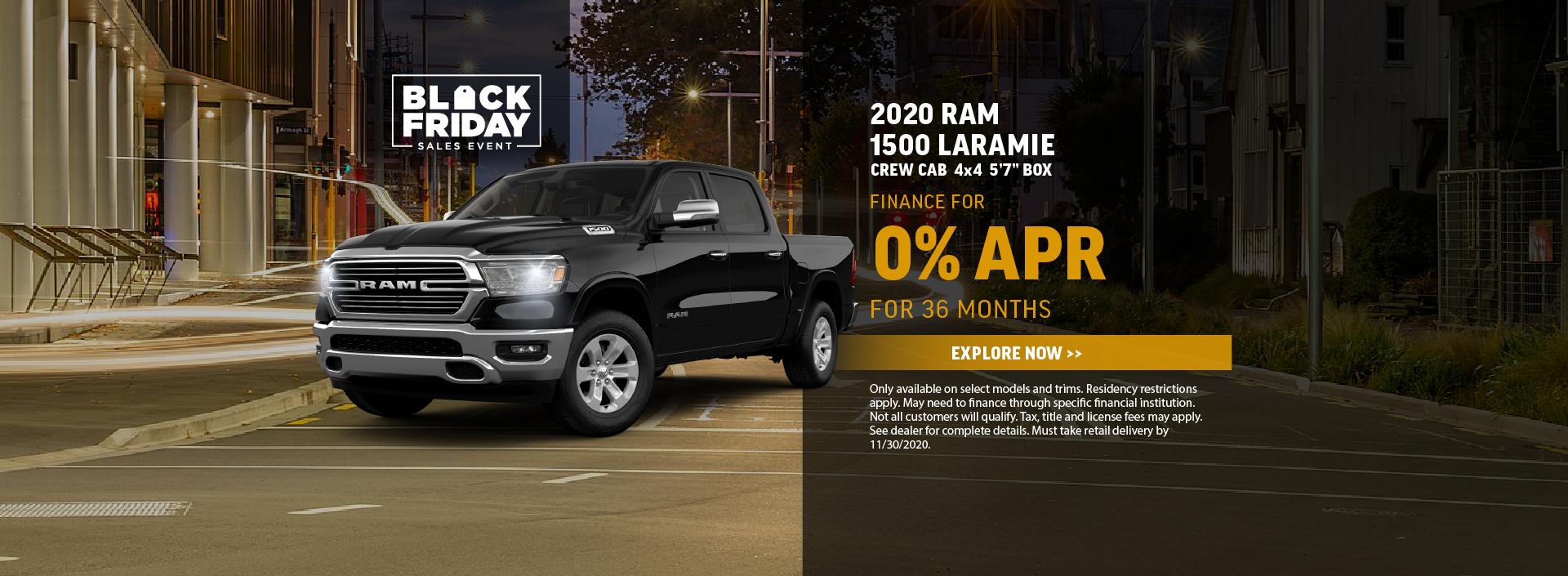 2020 Ram 1500 Offer