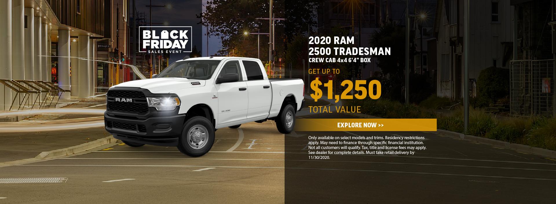 2020 Ram 2500 Offer