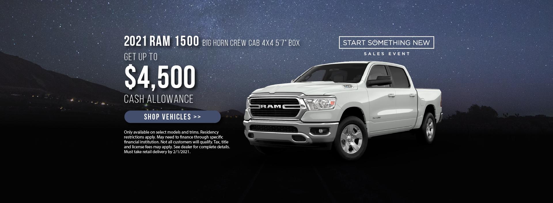 2021 Ram 1500 Offer