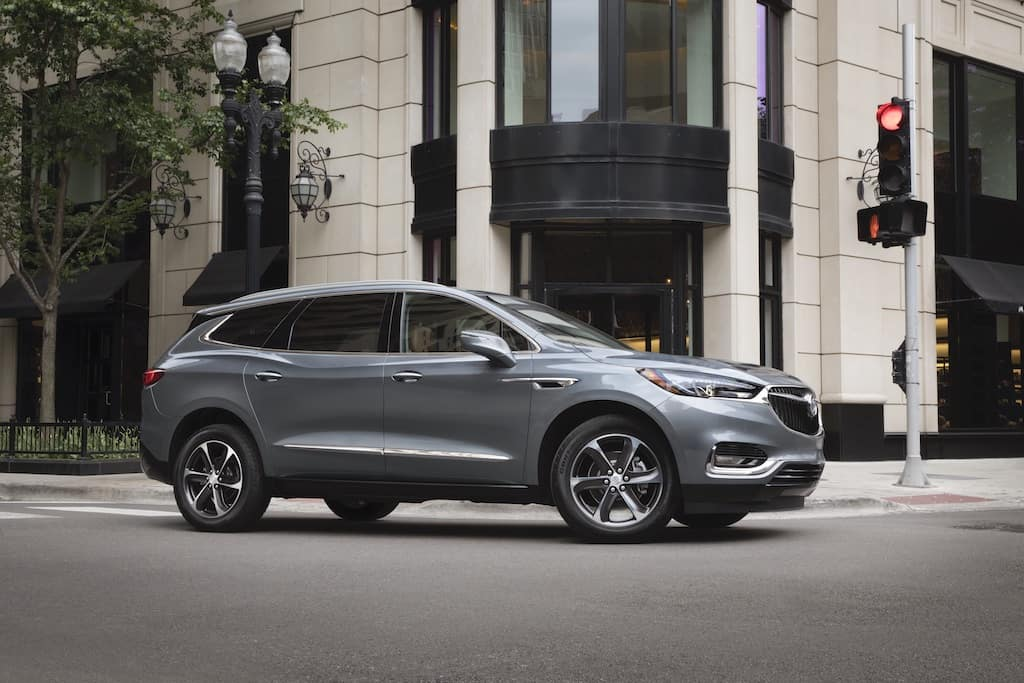 2020 buick enclave on city street