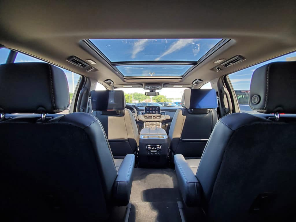 SUV with 2nd row captain's chairs