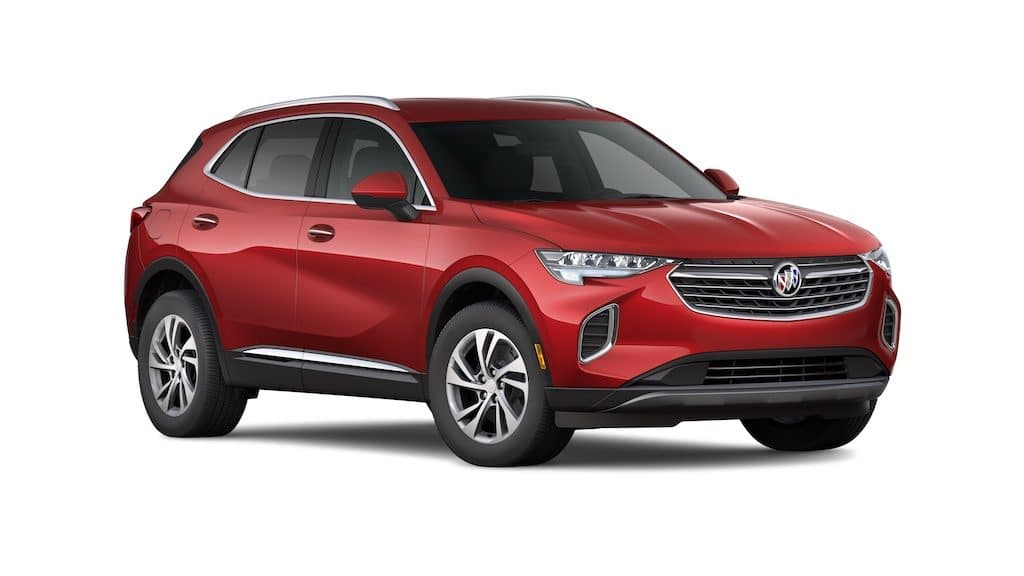 2021 Buick Envision Essence red