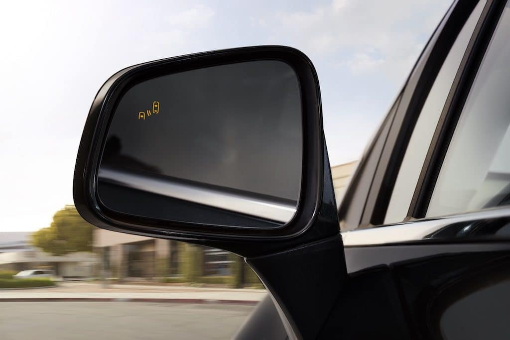 2021 Buick Encore Drivers Side Mirror Featuring Side Blind Zone Alert