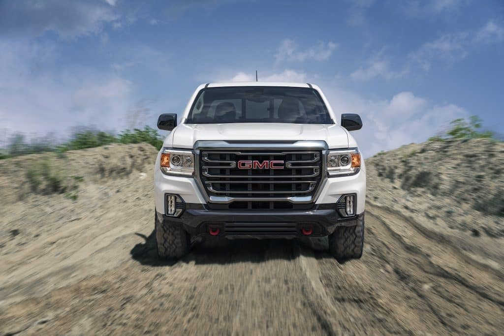 2021 GMC Canyon AT4 Crew Cab Short Box with (PEB) AT4 Off Road Performance Edition Package in Summit White