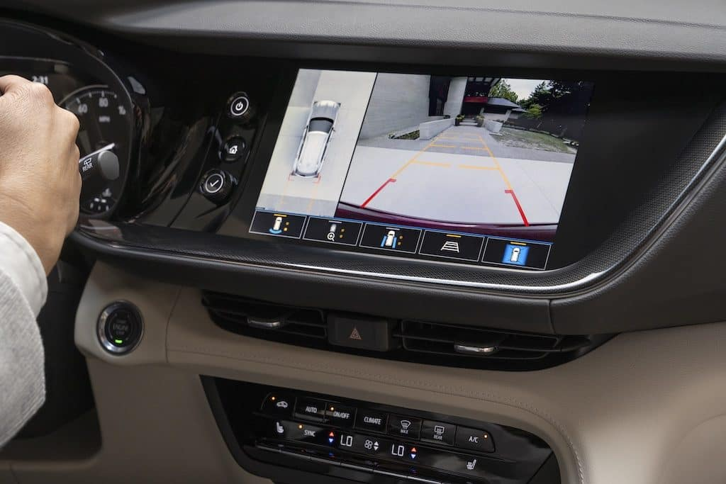 2021 Buick Envision Essence AWD Infotainment System showing Surround vision