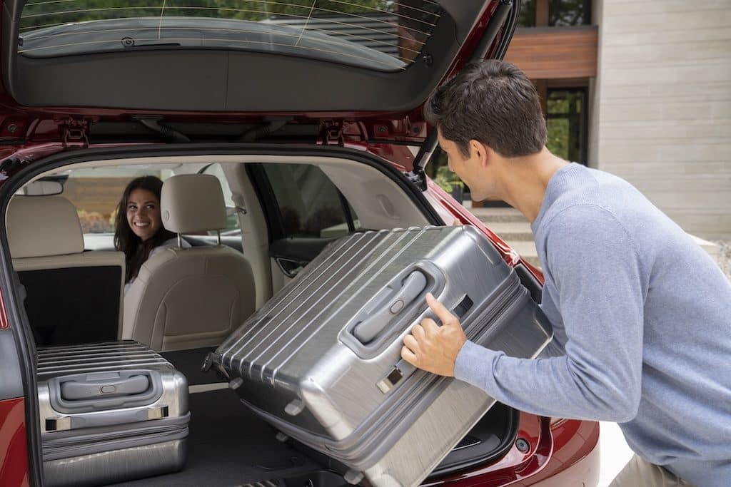 2021 Buick Envision Essence AWD cargo space trunk luggage
