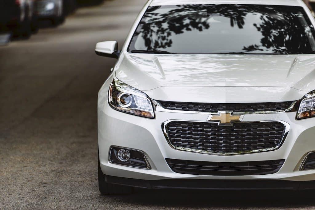 2015 Chevrolet Malibu silver