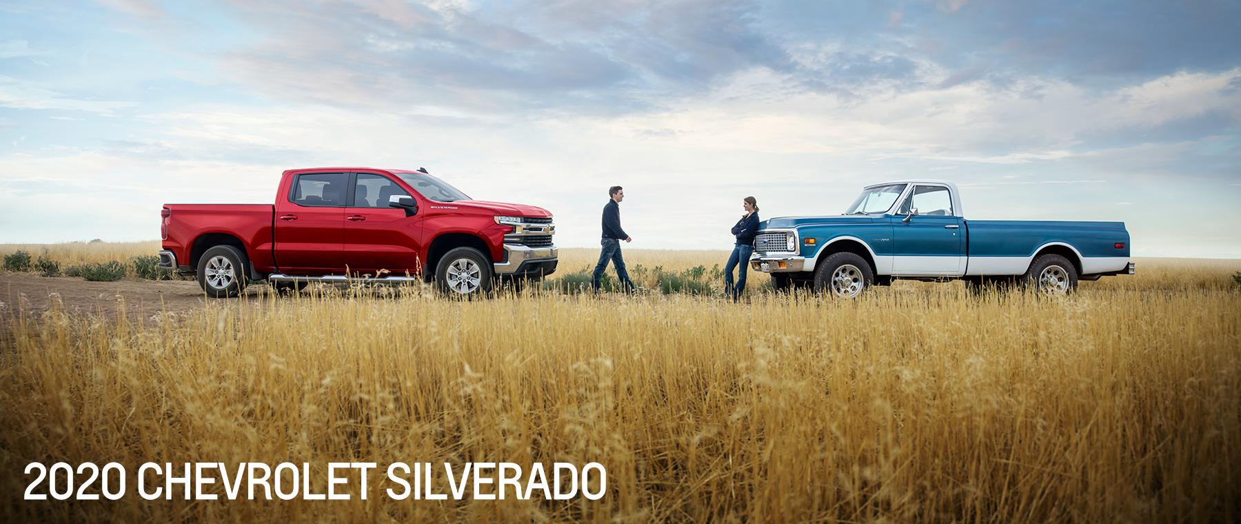 2020 Silverado and Old Body Style Silverado Side By Side