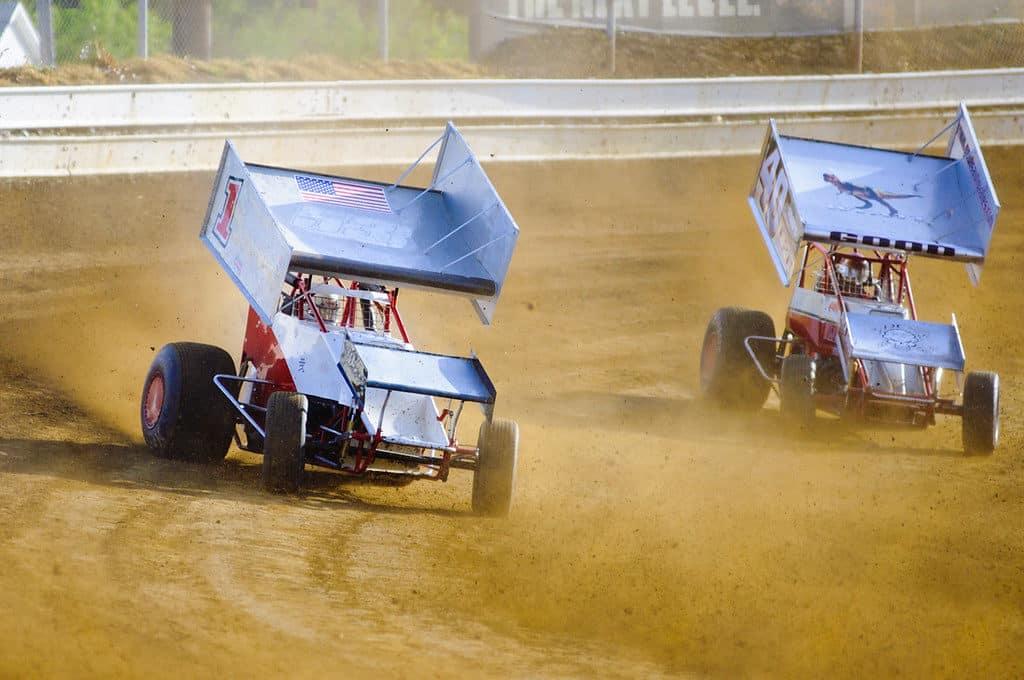 Sharon Speedway sprint cars