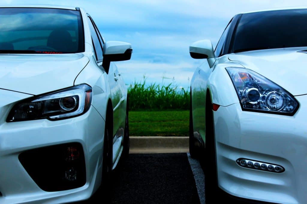 used cars white