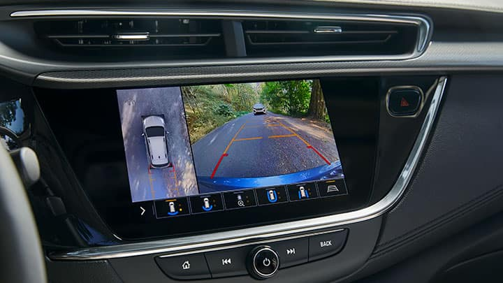 2021 Encore GX Essence (1SL) , showing available HD Surround Vision.
