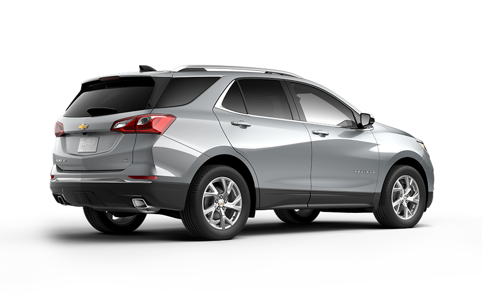 2021 GMC Terrain Silver Ice Metallic 3/4 passenger side rear view