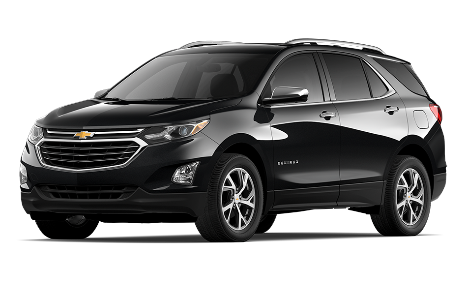 2021 Chevy Equinox SUV in Black Currant Metallic Exterior Color, shown from 3/4 drivers side front