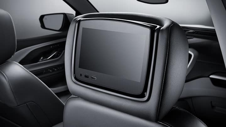 2021 GMC Terrain Accessory Rear Seat Entertainment System