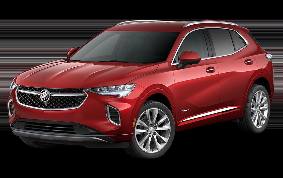 2021 Buick Envision Avenir in Cinnabar Metallic driver front