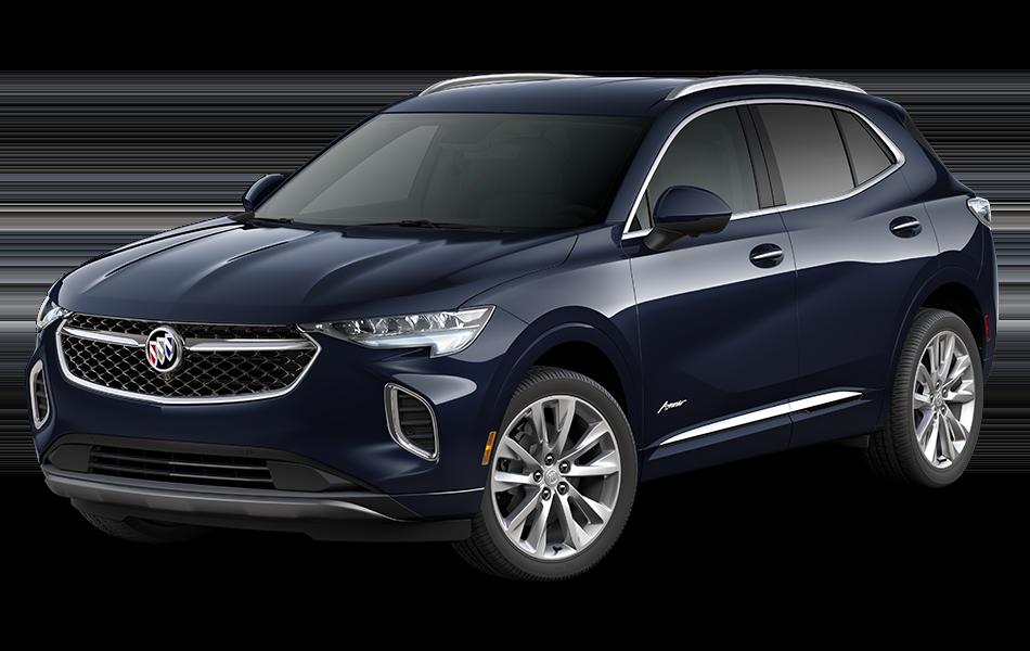 2021 Buick Envision Avenir in Dark Moon Blue Metallic driver front