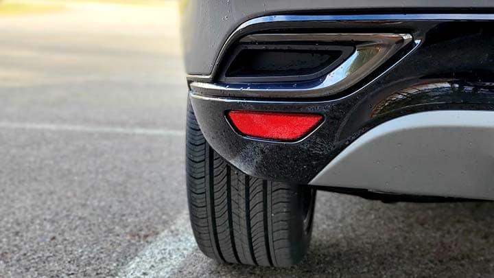 2021 Buick Envision Avenir rear tire