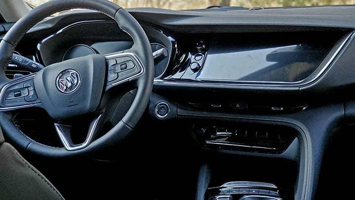 2021 Buick Envision Avenir interior driver side