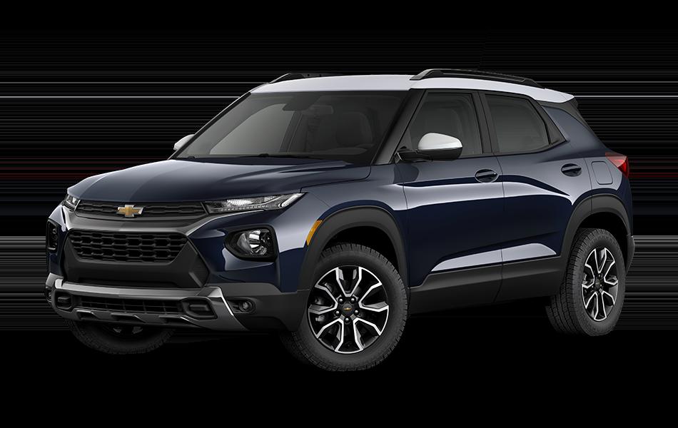 2021 Chevrolet Trailblazer - Midnight Blue Metallic with Summit White Top