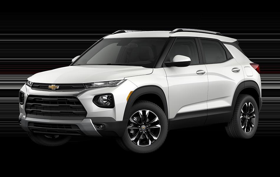 2021 Chevrolet Trailblazer -Summit White with Summit White Top