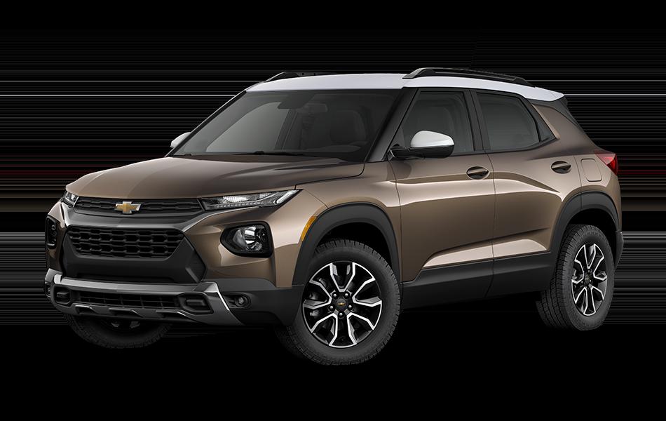2021 Chevrolet Trailblazer - Zeus Bronze Metallic with Summit White Top