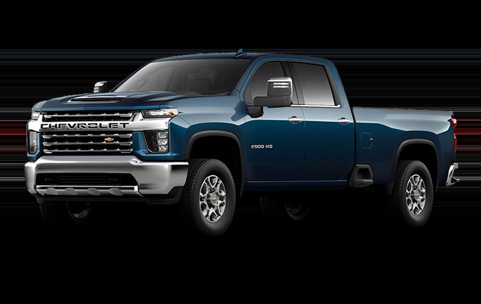 2021 Chevrolet Silverado in Northsky Blue Metallic color
