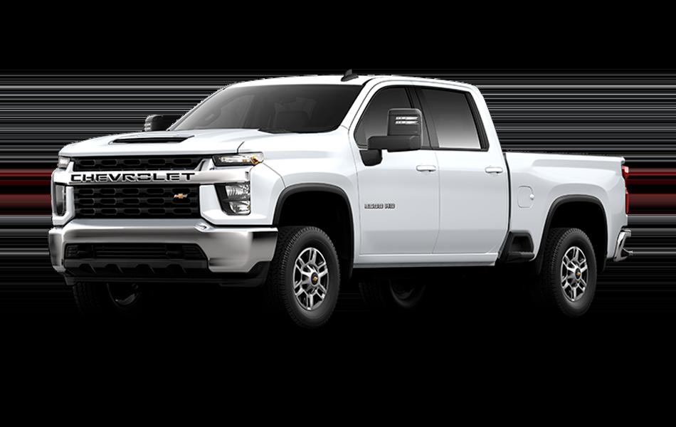 2021 Chevrolet Silverado in Summit White color