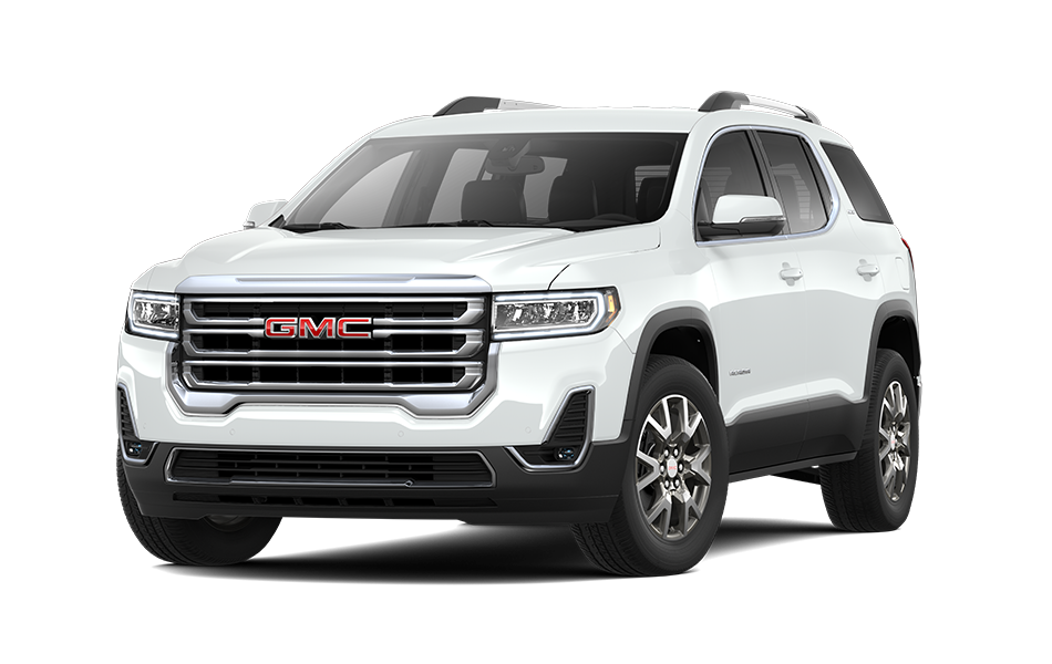 2021 GMC Acadia in Summit White color
