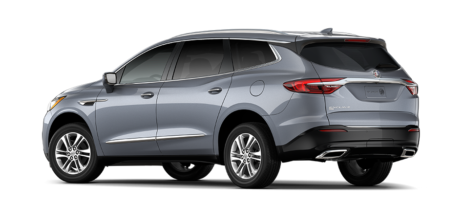 Buick Enclave 2021 - Exterior Color Grey - Back View