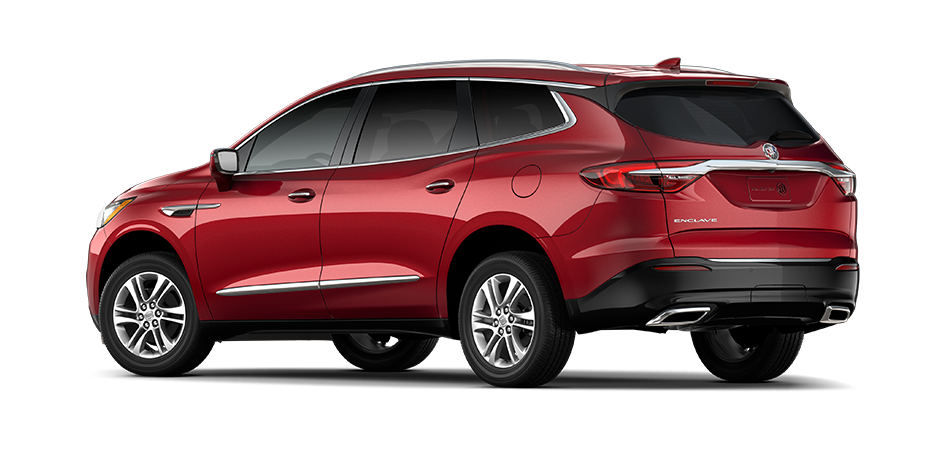 Buick Enclave 2021 - Exterior Color Red - Back View