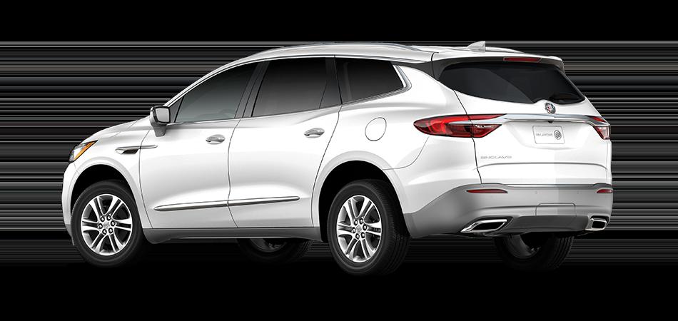 Buick Enclave 2021 - Exterior Color White - Back View