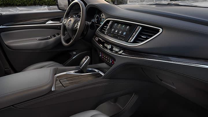 2021 Buick Enclave Premium (1SN) in Dark Galvanized; Interior