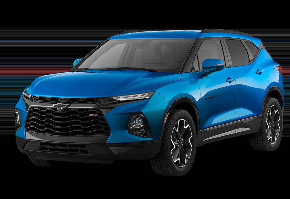 Chevy Blazer 2021 - Color Bright Blue Metallic